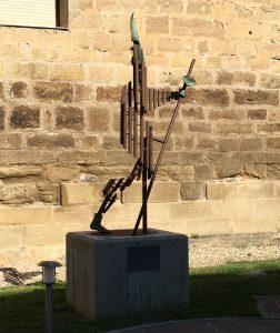 L'élan, à Santo Domingo de la Calzada.