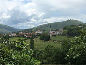 Ostabat, dernière étape avant Saint-Jean-Pied-de-Port.